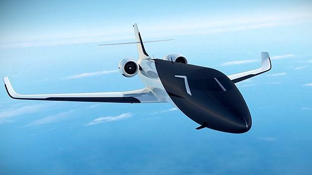 Video: El avión sin ventanas que le hará sentirse dentro de las nubes