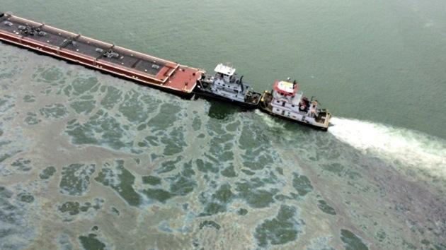 Más de 600 toneladas de combustible se derramaron en el golfo de México