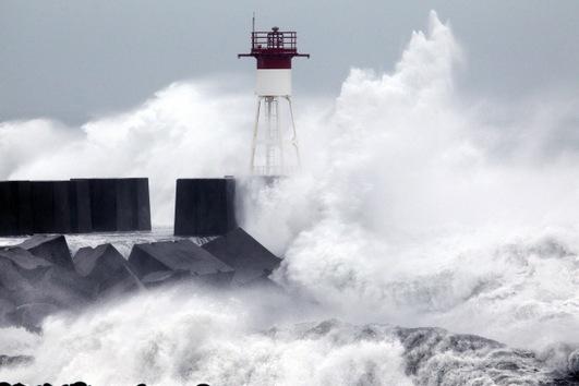 Fotos, video: El ciclón tropical Dumile se acerca a la isla francesa de la Reunión
