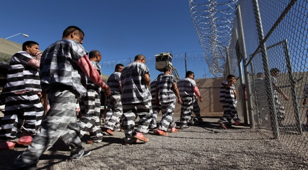 La cárcel de Tent City: última parada de los inmigrantes antes de ser deportados