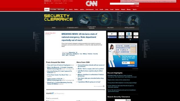El Ejército Electrónico Sirio 'hackea' cuentas de la cadena CNN en Twitter y Facebook