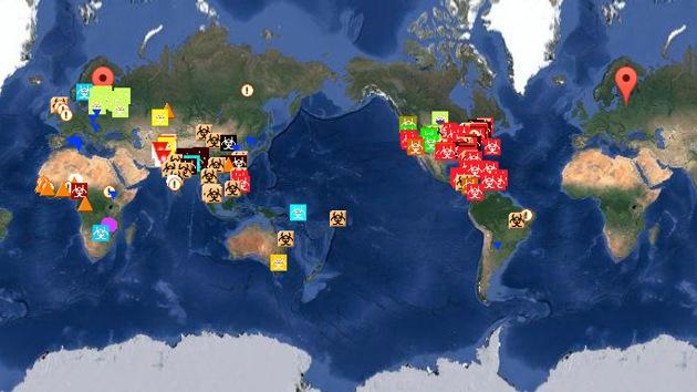 Mapa registra en tiempo real las epidemias y brotes de enfermedades en el mundo