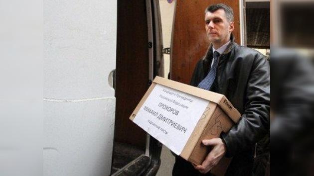 El millonario Prójorov revela sus bazas electorales: acortar mandatos y una unión Rusia-UE