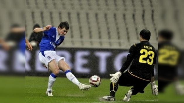Con gol de Bilialetdinov Everton clasifica a los play off de la Copa Europa