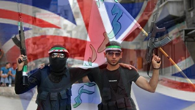 El Reino Unido aumenta la ayuda financiera a los rebeldes sirios
