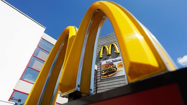 Rusia y China investigan McDonald's: ¿Antibióticos y carne de mala calidad?