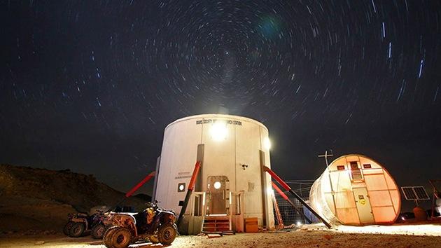 Fotos: Rusia simulará la colonización de Marte en un desierto de EE.UU.