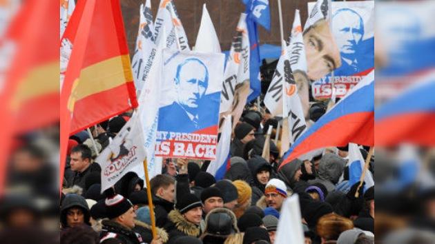 Moscú, sembrada de concentraciones tras la jornada electoral