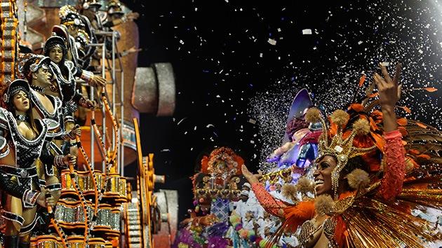 El carnaval de Brasil, a todo color