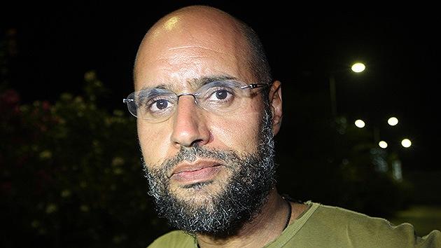 """Abogado del hijo de Gaddafi: """"Si lo juzgan en Libia será ejecutado"""""""