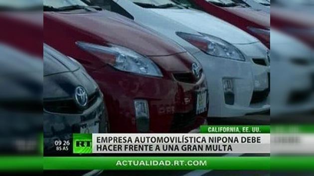 Toyota recibe una multa récord por ocultar defectos en sus coches