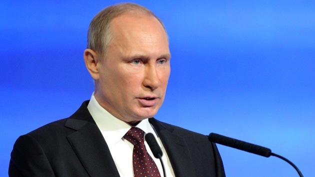 """Putin: """"Rusia puede convertirse en un garante de la paz en Oriente Medio"""""""