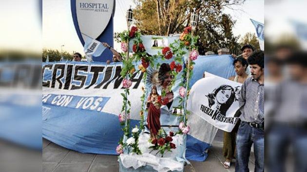 El pueblo argentino se une en apoyo de Cristina Kirchner, golpeada por el cáncer