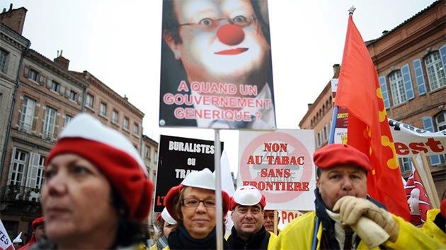 Francia: Los empresarios protestan por las condiciones laborales y los impuestos