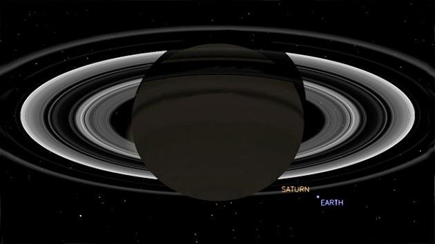 La Nasa sacará fotos de la Tierra desde Saturno