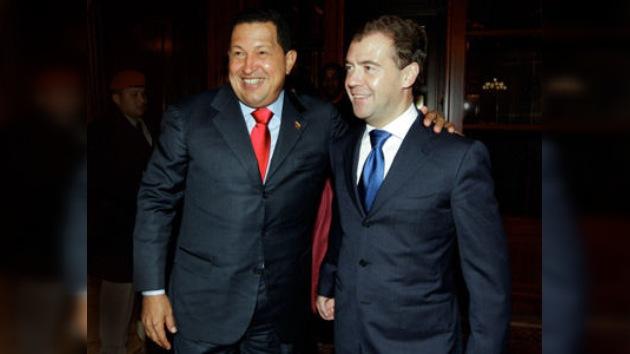 Dmitri Medvédev desea 'buena salud y pronta recuperación' al presidente venezolano