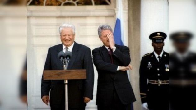 La transición de 1990, a través de los retratos de Borís Yeltsin