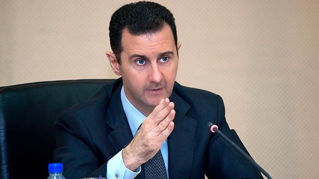 Al Assad acusa al Reino Unido de alimentar el conflicto en Siria