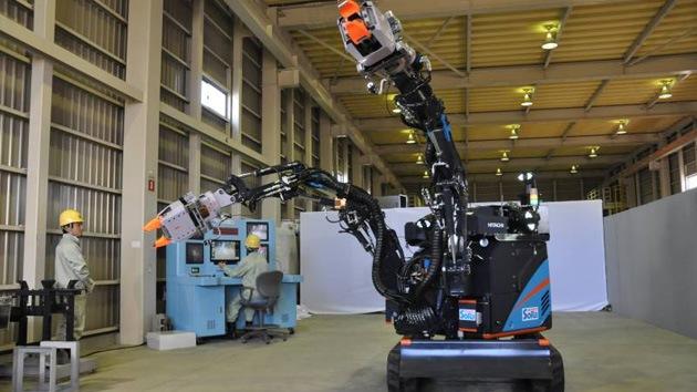 Video, fotos: Hitachi se une a la carrera robótica para desmantelar Fukushima