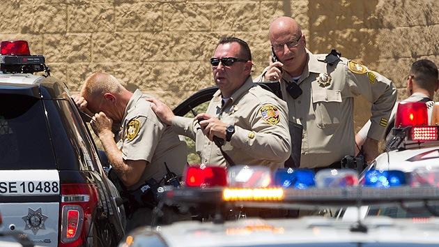 Dos personas armadas abren fuego en un Walmart de Las Vegas dejando muertos y heridos