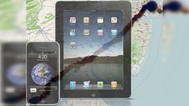 IPhone e iPad rastrean el desplazamiento del usuario y lo guardan en un archivo oculto