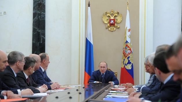 Citas clave de Putin ante el Consejo de Seguridad ruso
