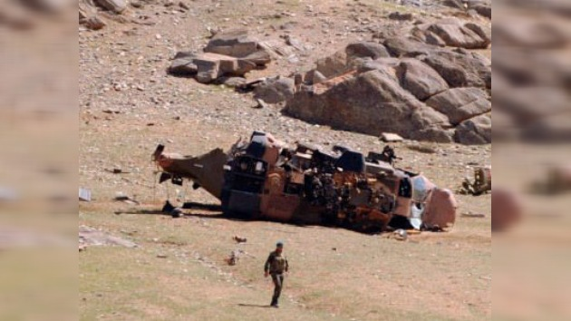 Seis soldados de la OTAN mueren tras estrellarse su helicóptero en Afganistán
