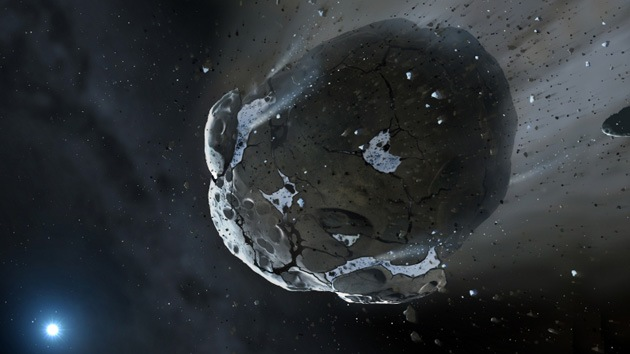 Un asteroide repleto de agua prueba la existencia de exoplanetas habitables