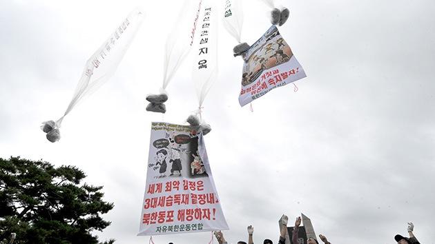 Activistas surcoreanos lanzan propaganda hacia Corea del Norte a pesar de las amenazas de Pyongyang