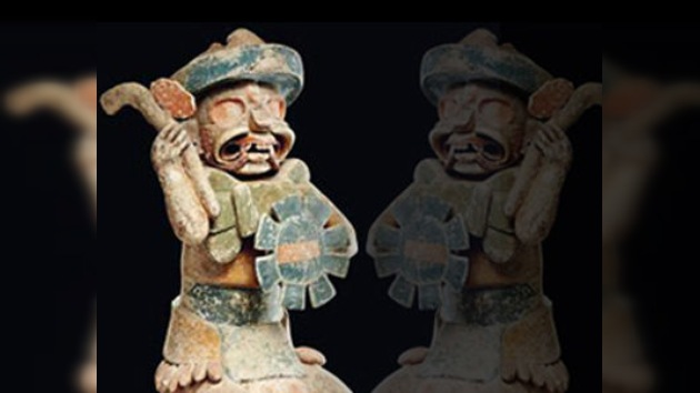 Declaran falsa la escultura maya que batió récords en una subasta en París