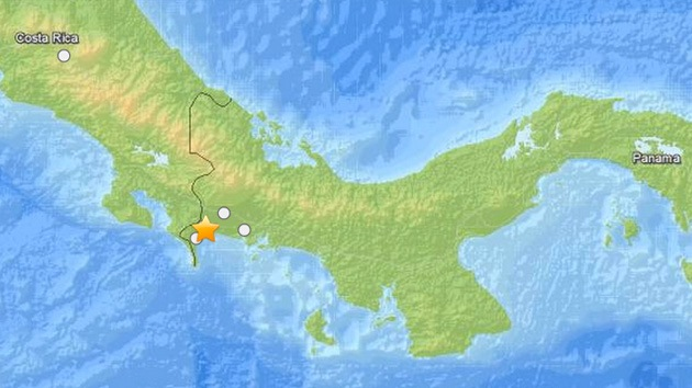 Un sismo de magnitud 4,6 sacude la frontera entre Panamá y Costa Rica