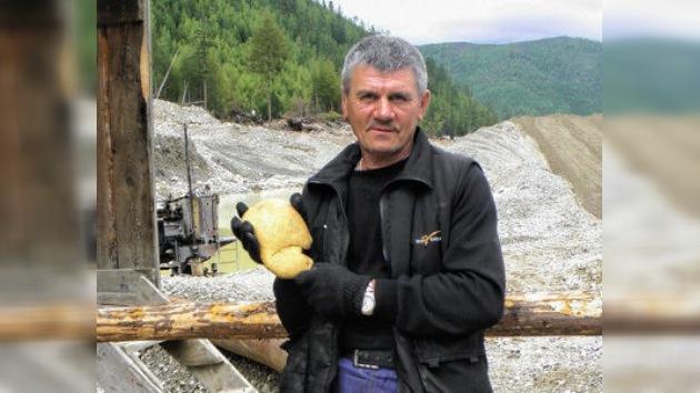 El Fondo de Diamantes de Rusia suma una pepita de oro gigante