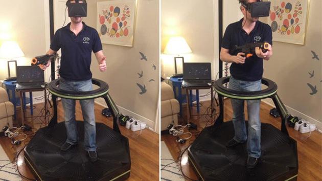 Realidad virtual al máximo: crean revolucionaria caminadora omnidireccional