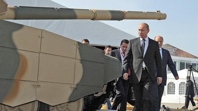 Rusia aumenta sus exportaciones de armas