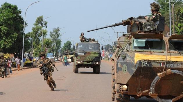 El Pentágono estudia apoyar militarmente a Francia en la República Centroafricana
