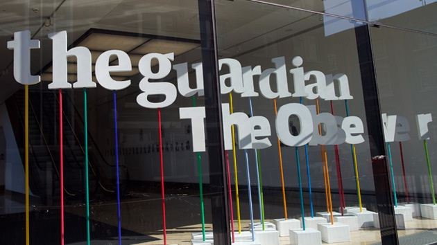 Alianza entre 'The Guardian' y 'The New York Times' protegerá los archivos de Snowden