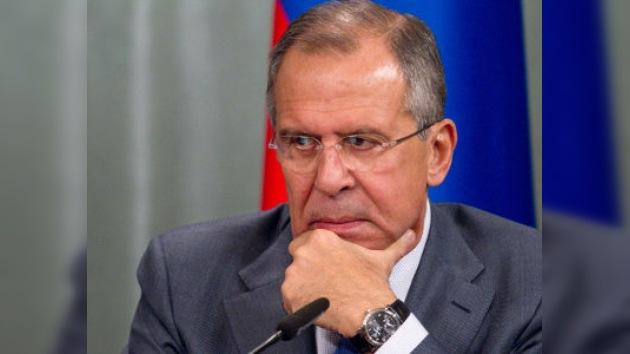 Lavrov: el problema iraní es serio, pero no hay más salida que la negociación