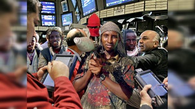 Piratas somalíes abren Bolsa de Valores
