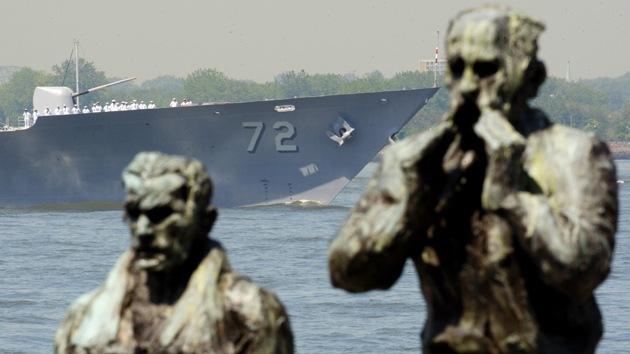 EE.UU. envía un crucero de misiles al mar Negro