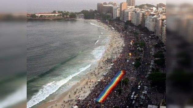 El Orgullo Gay en Río de Janeiro pide paz