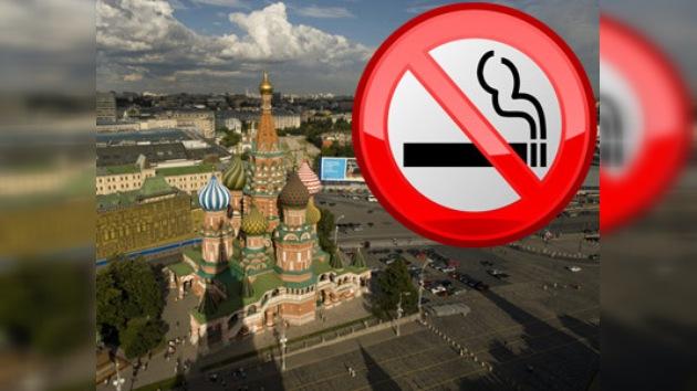 La campaña '¡Deja de fumar hoy!' arranca en Moscú