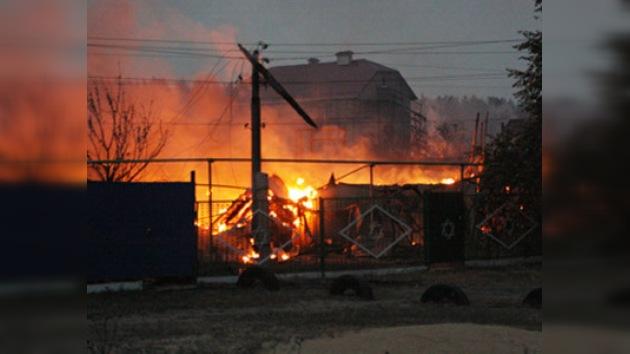 14 regiones rusas sufren graves daños por incendios