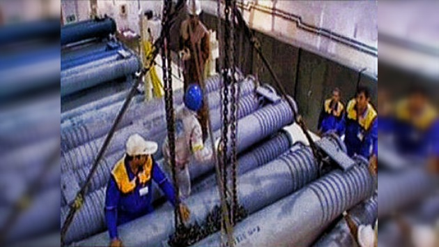 Irán empieza a instalar barras de combustible nuclear enriquecido al 20%