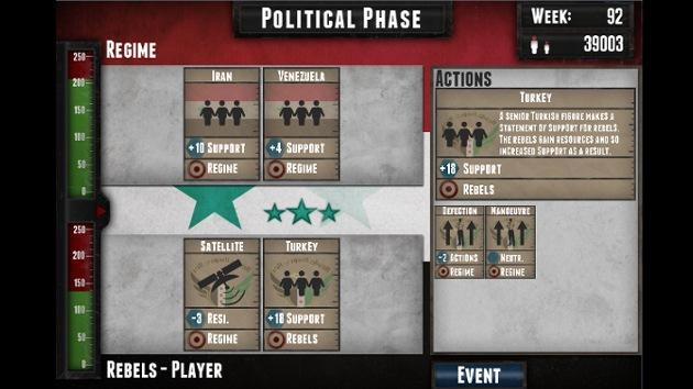 La guerra en Siria se convierte en videojuego