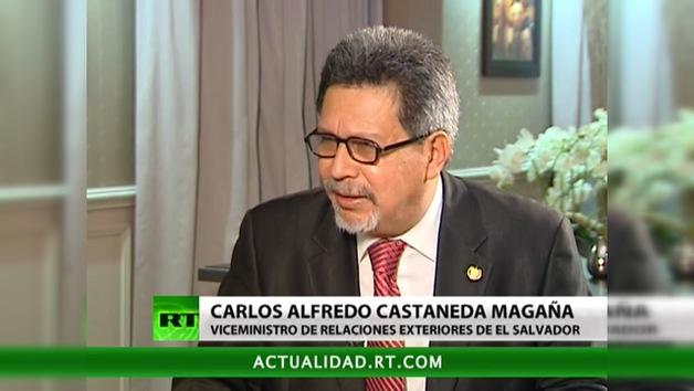 Entrevista con Carlos Alfredo Castaneda Magaña, Viceministro de Relaciones Exteriores de El Salvador