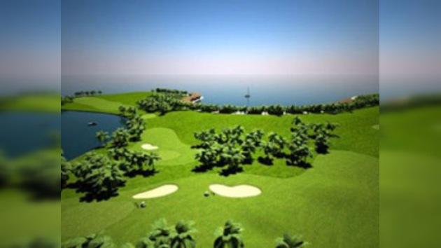 El primer campo de golf flotante del mundo se construirá en las Maldivas