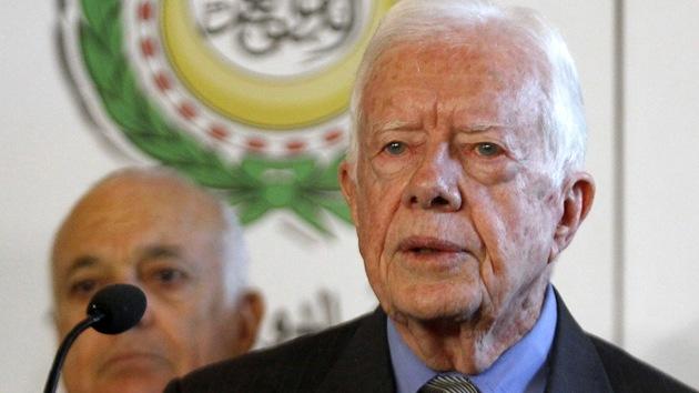 """Carter: """"Para acabar la guerra en Gaza hay que reconocer la legitimidad de Hamás"""""""