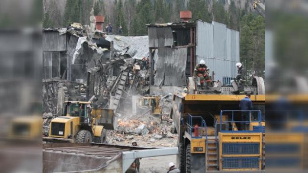 Se suspenden las labores de rescate en la mina Raspádskaya