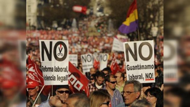 """España dice """"no"""" a la reforma laboral del despido barato"""