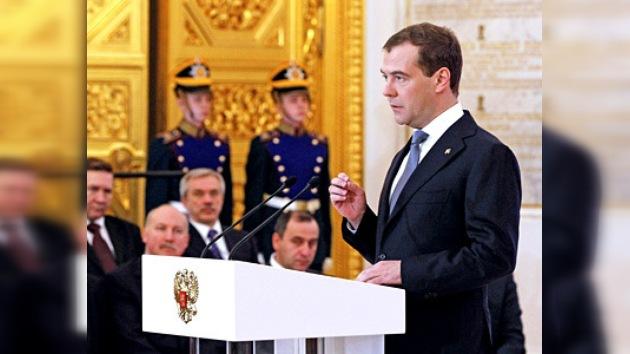 Medvédev: Mi objetivo es más libertad para todos
